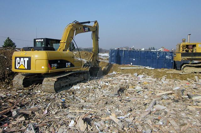 Construction Amp Demolition Debris Landfill Sand Amp Gravel